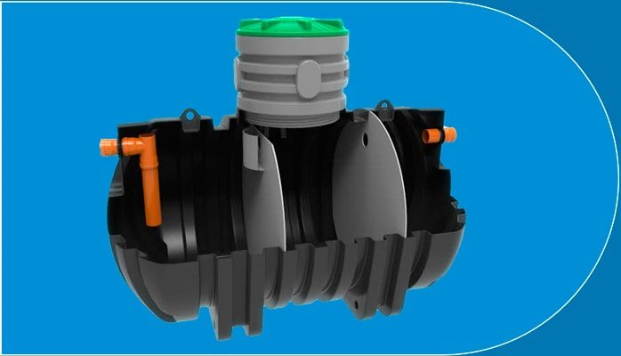 Купить-септик-Rodlex-трехкамерный-3-камерный
